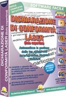 DICHIARAZIONE DI CONFORMITÀ LASER (Solo copertina)