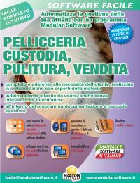 PELLICCERIA CUSTODIA, PULITURA, VENDITA